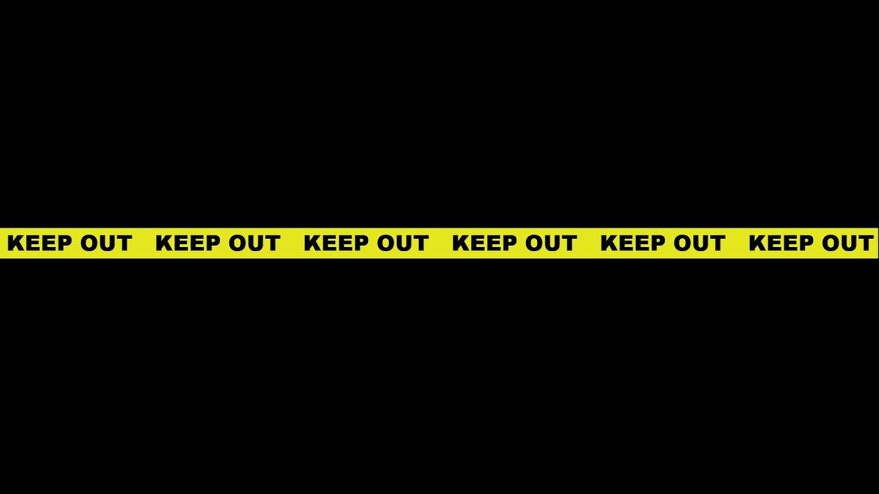keep_out_01 立入禁止