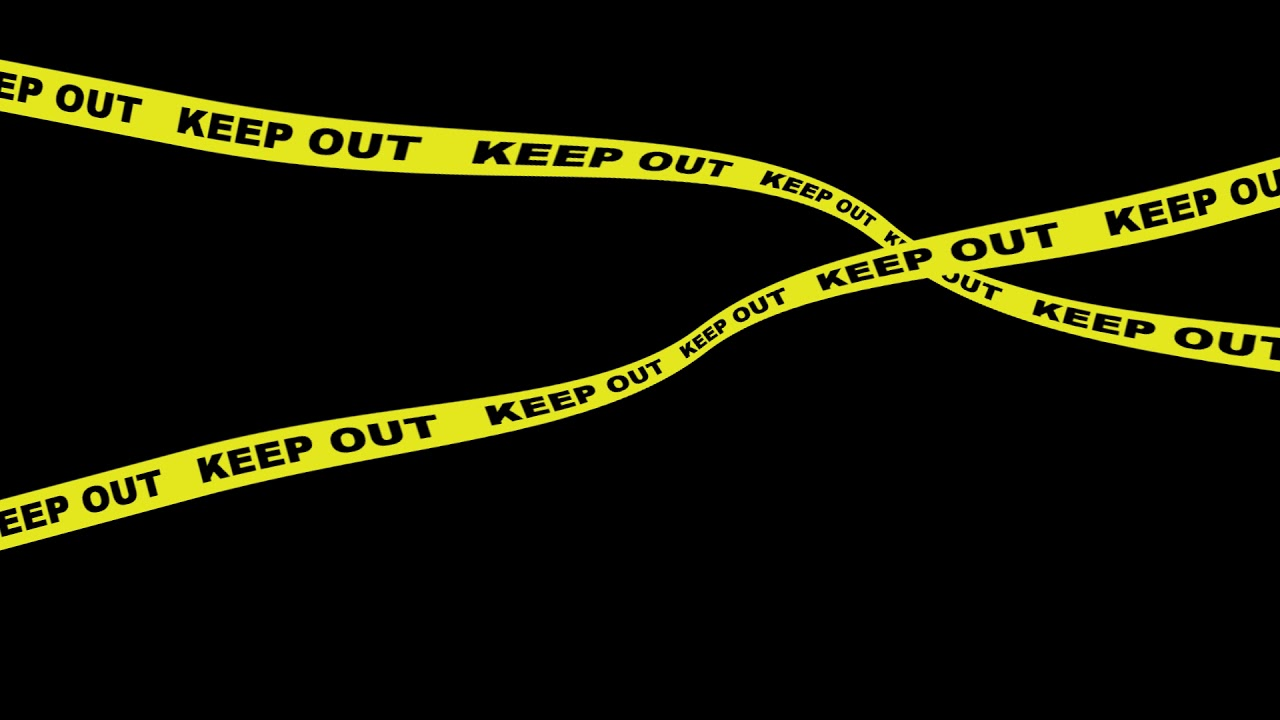 keep_out_02 立入禁止