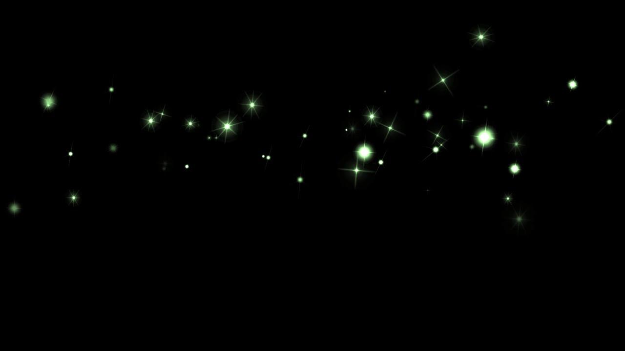 kirakira_02_green キラキラ 星