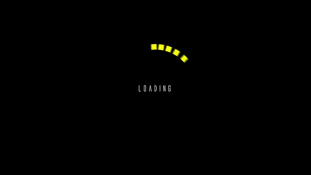 roading_animation_square_yellow ローディングアニメ