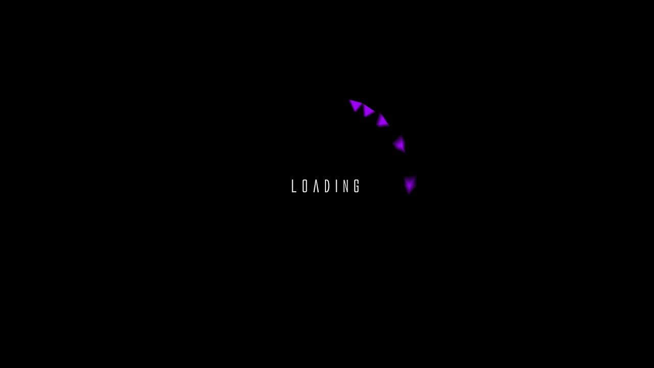 roading_animation_triangle_purple ローディングアニメ